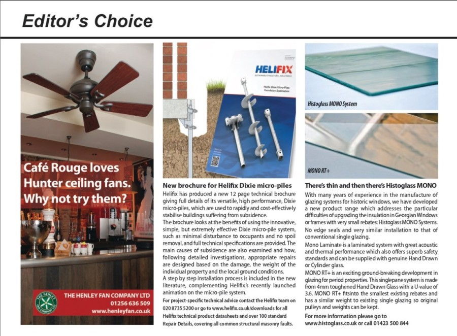 Henley Fan Editor's Choice in RefurbRenovation News