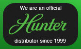 hunter official distributor