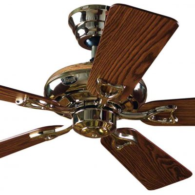 Designer ceiling fans buy the best brands henley fan hunter seville ii with droprod in bright brass bargain 60 off mozeypictures Image collections