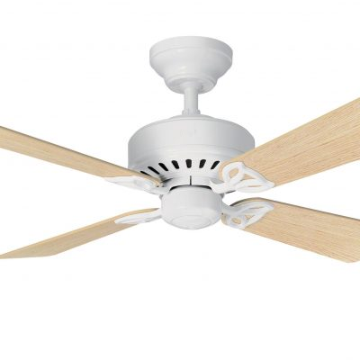 New ceiling fan products hunter bayport ceiling fan in white with free light kit mozeypictures Choice Image