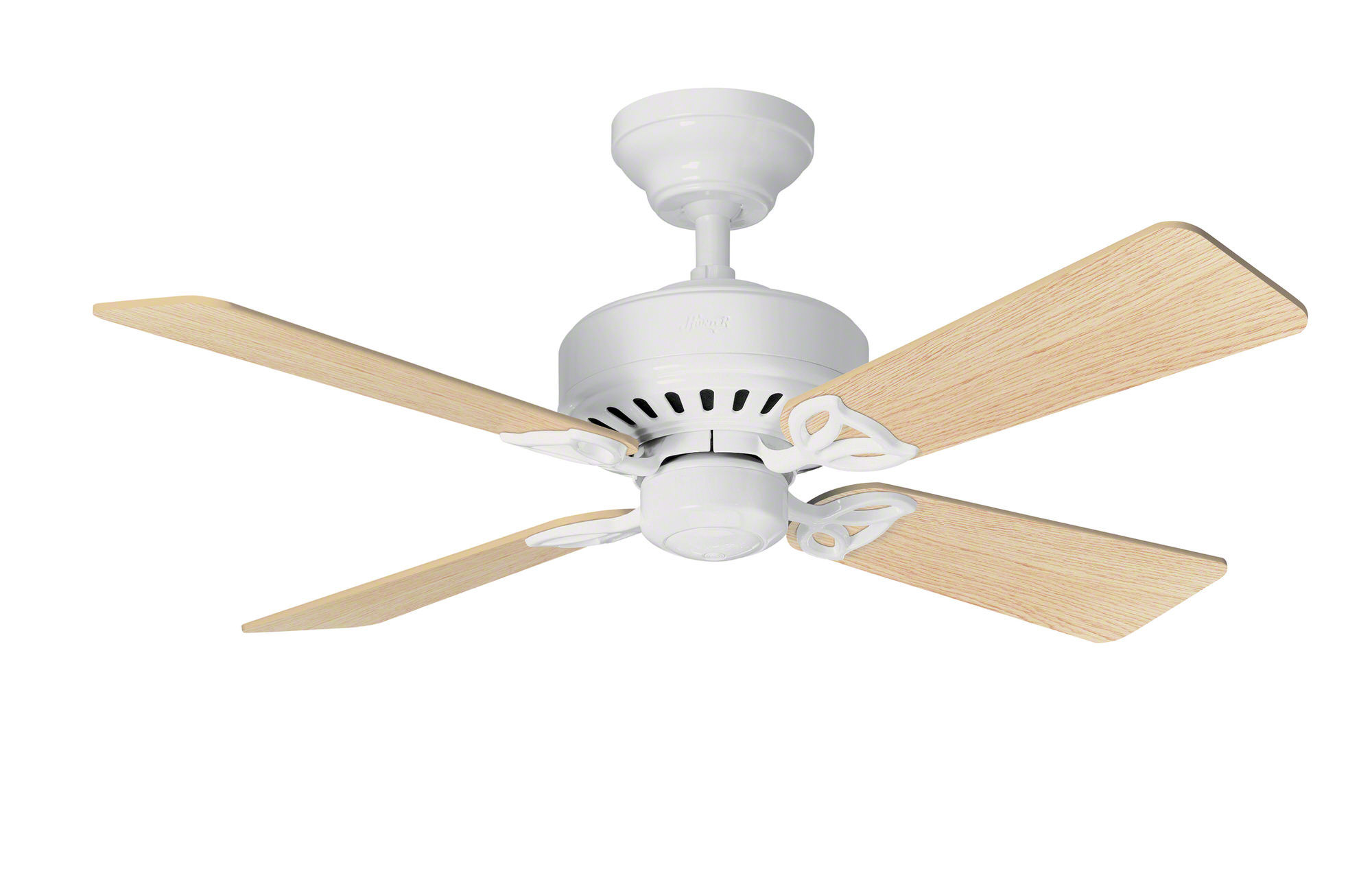 hunter fans ceiling alchemy brushed fan shop nickel
