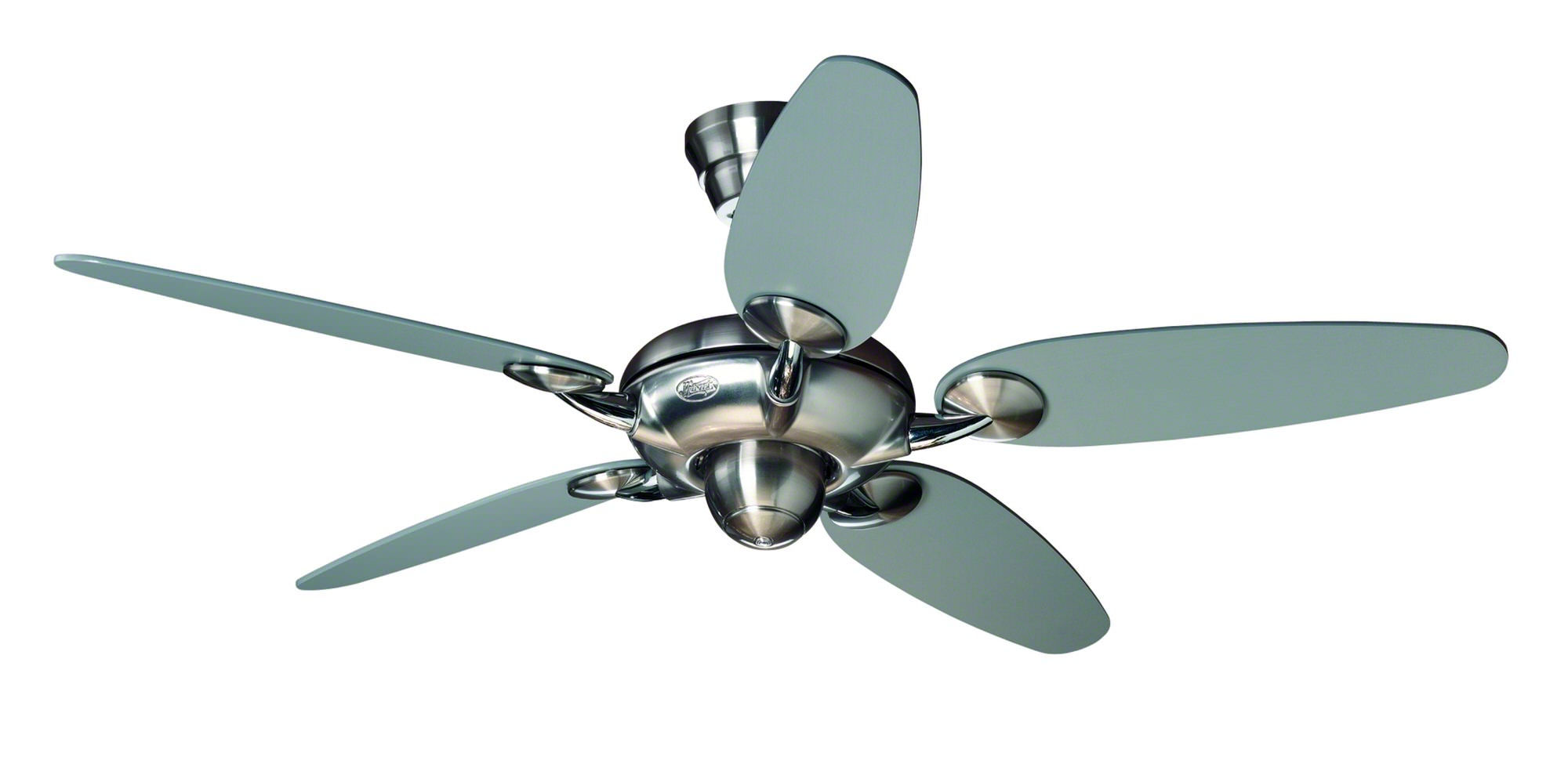 ceiling x fan satin metropolitan the with double small steel sweep light no