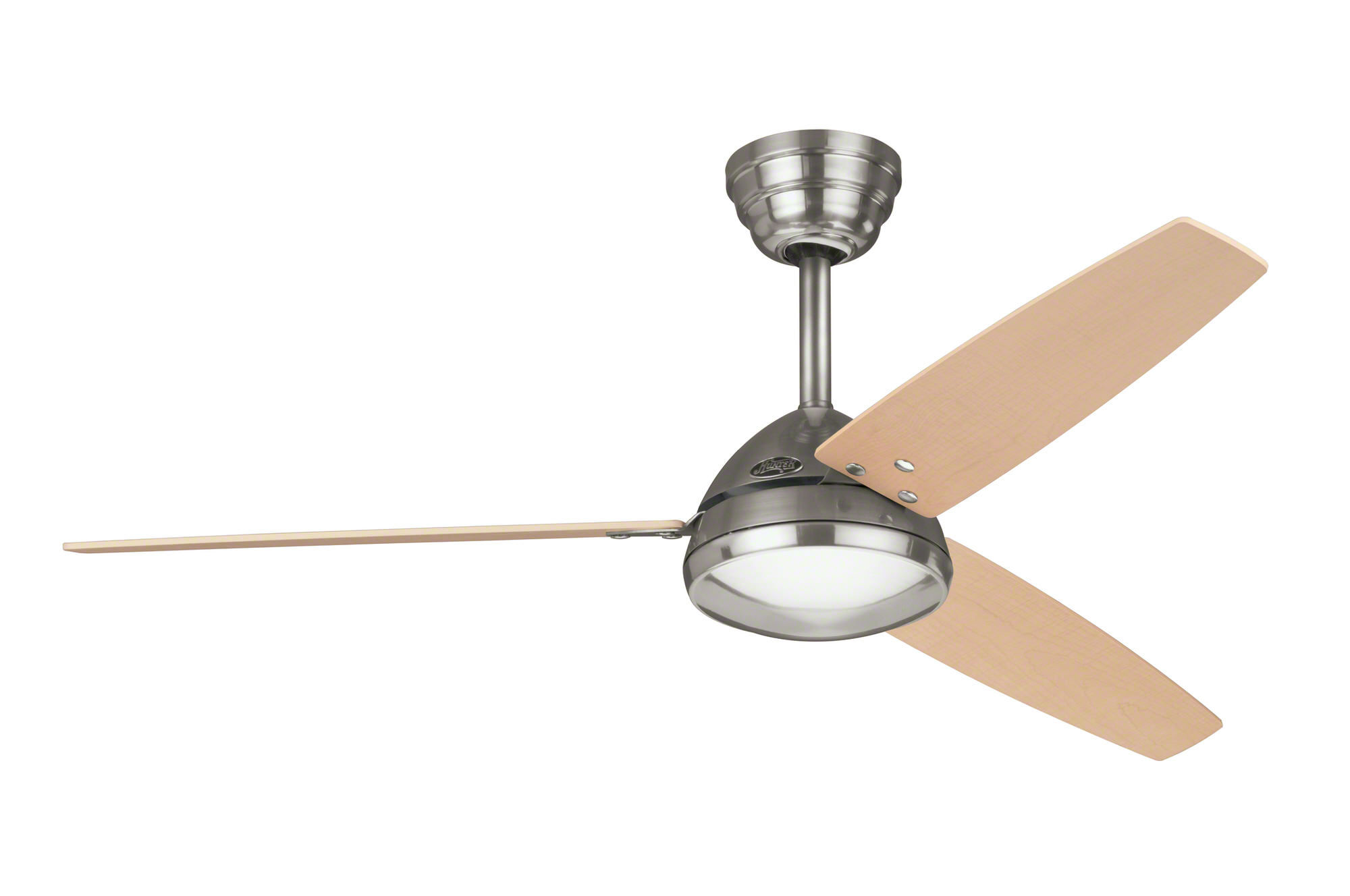 Hunter metro ceiling fan in brushed nickel aloadofball Images