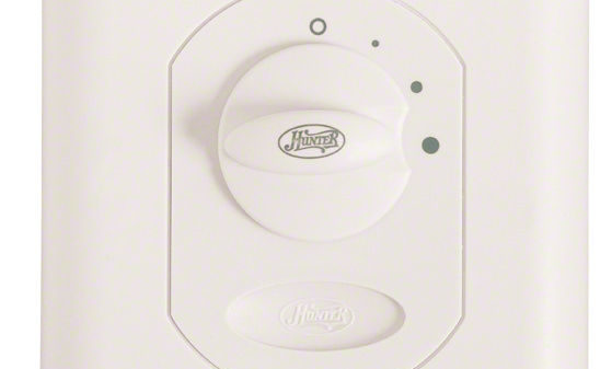 Hunter 24758 Ceiling Fan 3-Speed Wall Control