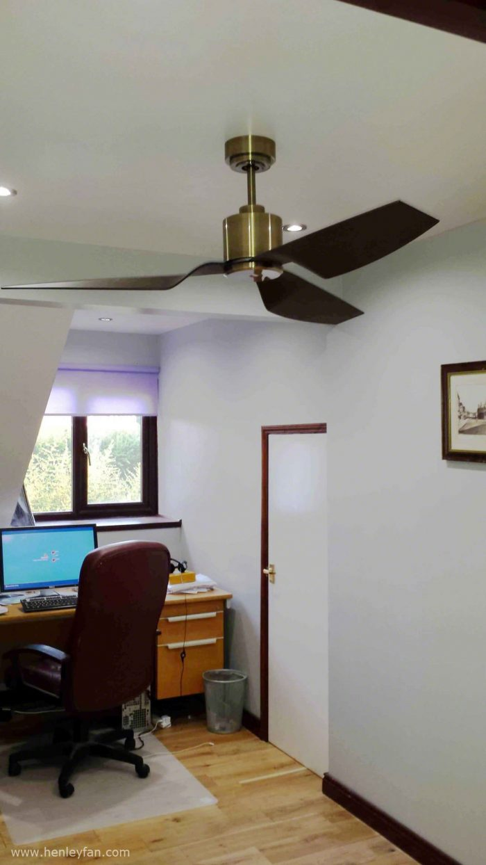 Lucci Airfusion Climate Ii Low Energy Dc Ceiling Fan 50 127cm Artemis Wiring Diagram 440 Henley Brushed Nickel