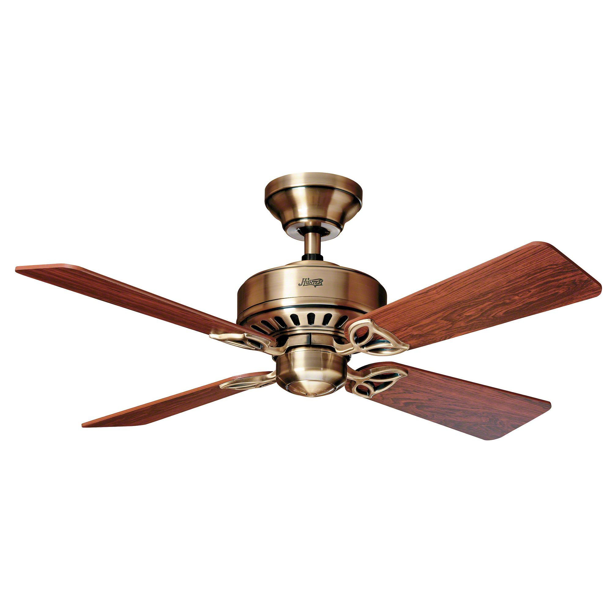 369_Hunter_Ceiling_fan_24174_Bayport_antique_brass