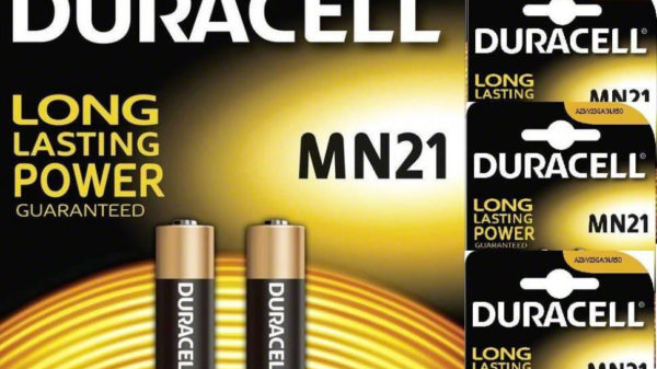 Replacement Remote Battery Pack (2) Duracell MN21 Akaline