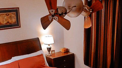 Matthews-Atlas Acqua Double Rotational Twin Headed Ceiling Fan