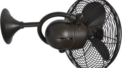 Matthews-Atlas Kaye Art Nouvaeu Oscillating Wall Fan