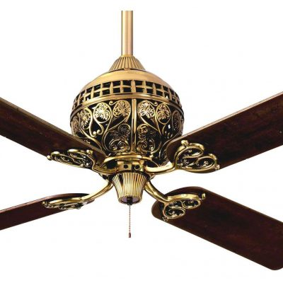 Hunter ceiling fans the worlds oldest biggest manufacturer hunter 1886 series ceiling fan limited edition in burnished brass mozeypictures Gallery