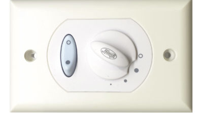 Hunter 24757 Ceiling Fan 3-Speed Wall Control with Light Switch