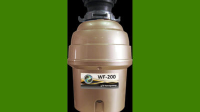 Waste Force WF-200 Waste Disposal Unit, 3/4Hp 10 Year Warranty - 30% off