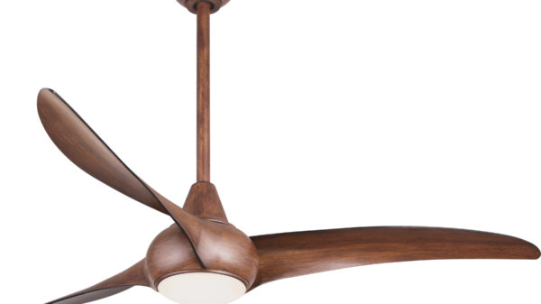 "Minka Aire 52""/132cm Light Wave Ceiling Fan with LED Light and Remote Control - Lifetime Warranty"