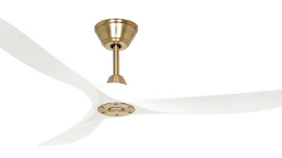 Henley Zephyr Wood Low Energy DC Designer Ceiling Fan with Remote Control, Lifetime Warranty