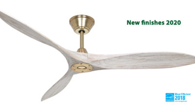 Henley Zephyr Propeller Solid Wood Eco DC Designer Ceiling Fan - 60″/152cm Lifetime Warranty