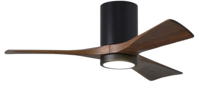 Matthews-Atlas Irene 3H Hugger with LED Light - Low Energy DC Ceiling Fan, Lifetime Warranty