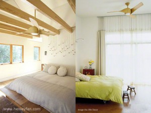 003 Henley Ceiling Fan Artemis maple bedroom