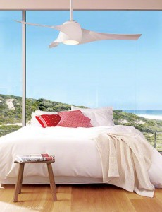 120 Henley Ceiling Fan Minka Artemis bedroom 001
