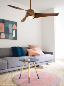 128 Henley Ceiling Fan Minka Artemis living room 003